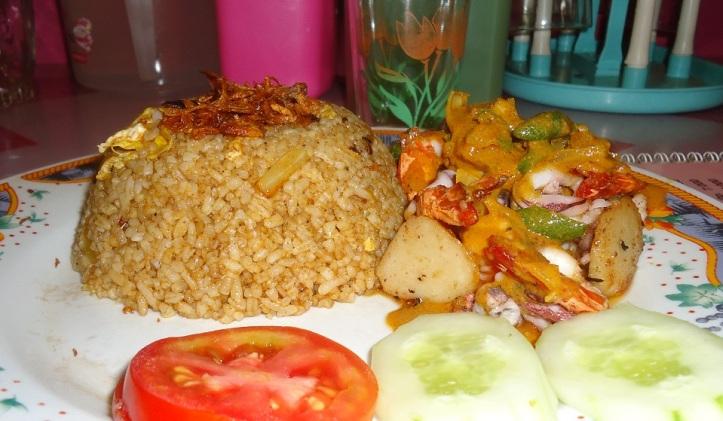 Nasi Goreng Bombay Seafood