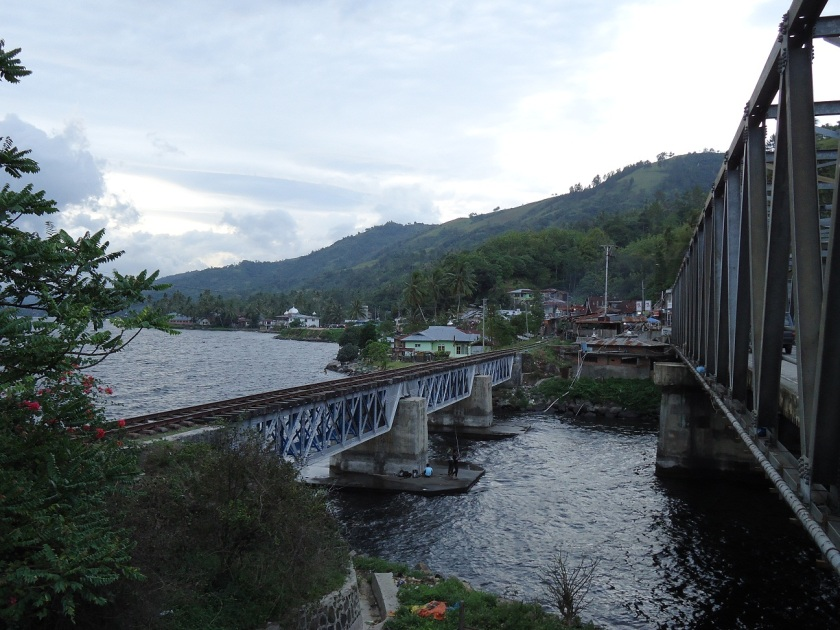 Lake, Bridge N Railway