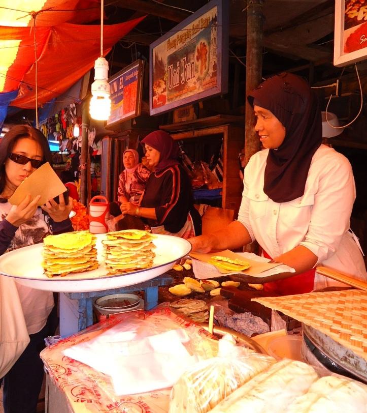 Penjual Pisang Kapik