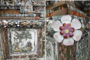 mosaik di dinding2 candi