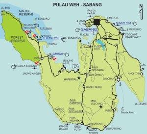Pulau Weh..  Gambar diambil dari sini...