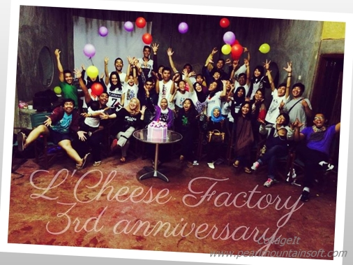 L Cheese Anniversary