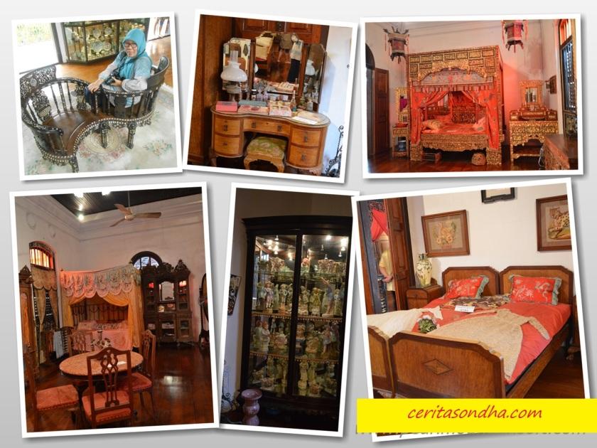 Bed rooms Peranakan Mansion