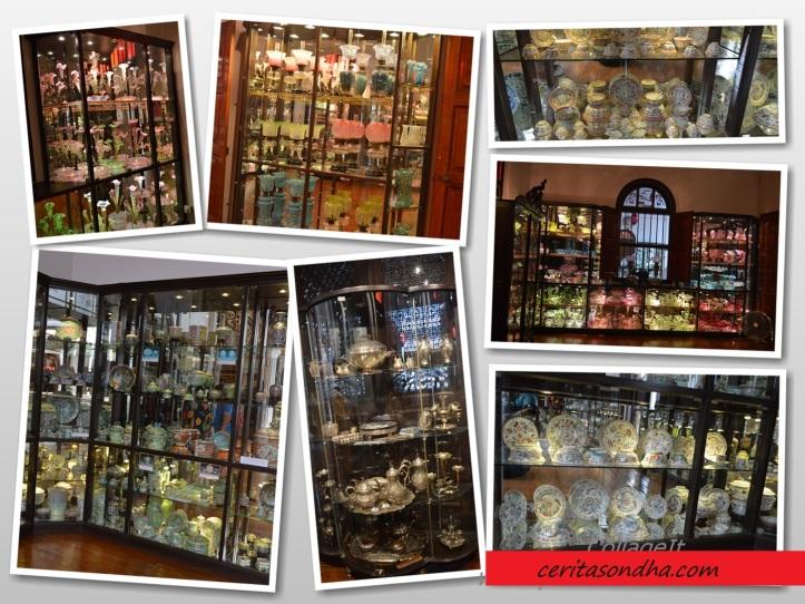 Koleksi Kristal dan Perlengkapan Makan Nyonya